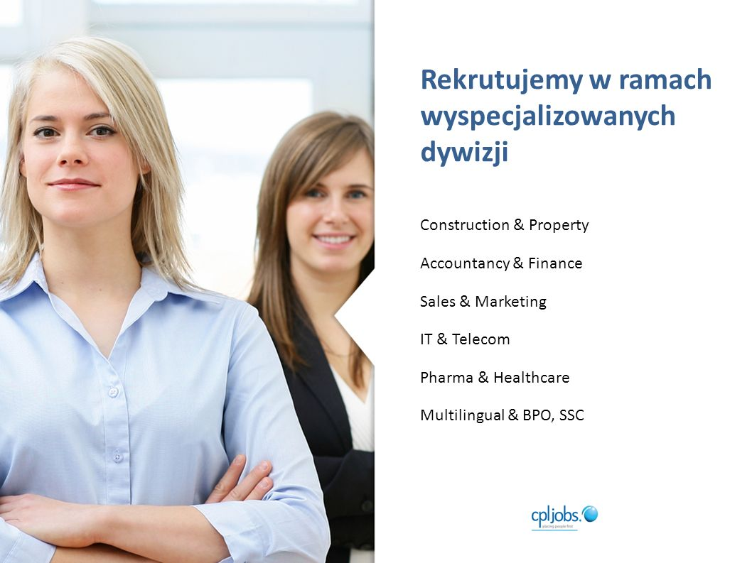 Permanent Recruitment Rozwiązania rekrutacyjne w zakresie zatrudnienia na czas nieokreślony.