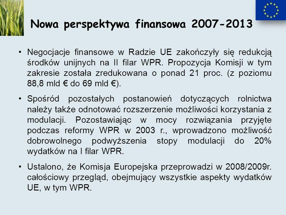 Negocjacje finansowe w Radzie UE zakończyły się redukcją środków unijnych na II filar WPR.