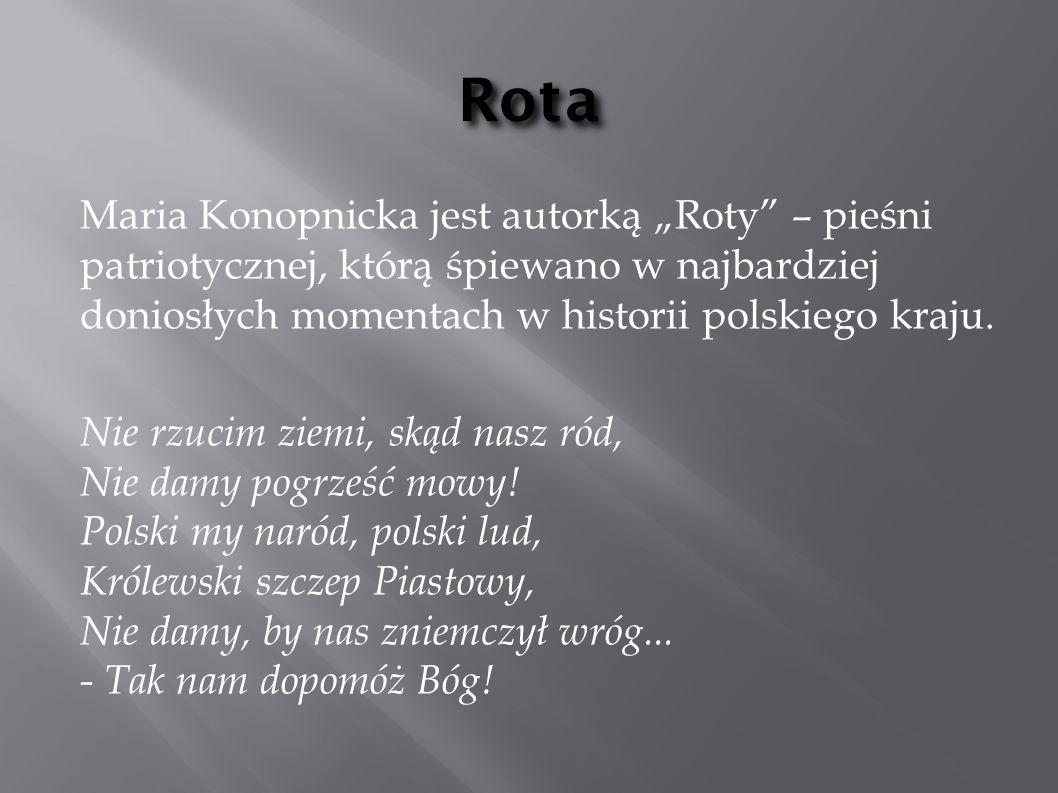 Nowelistyka Marii Największą sławę odniosły nowele Konopnickiej związane z tematyką społeczną i psychologiczną ( Mendel gdański 1893, Miłosierdzie gminy ).