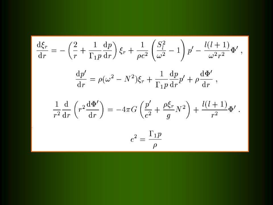 PRZYBLIŻENIE COWLINGA, = 0 Znacznie upraszcza równania pulsacyjne.