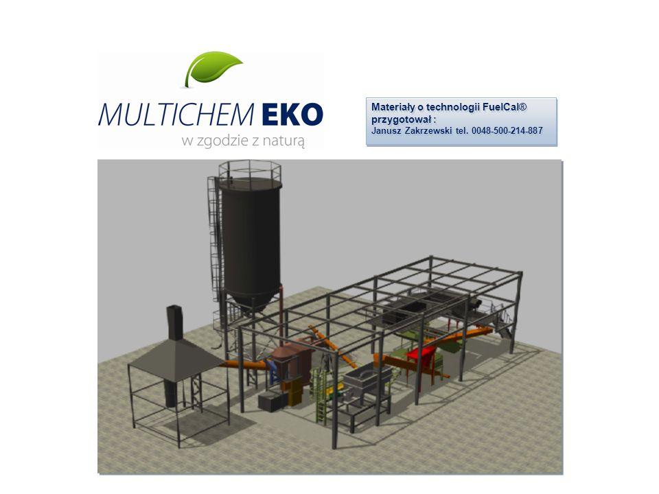 Materiały o technologii FuelCal® przygotował : Janusz Zakrzewski tel. 0048-500-214-887