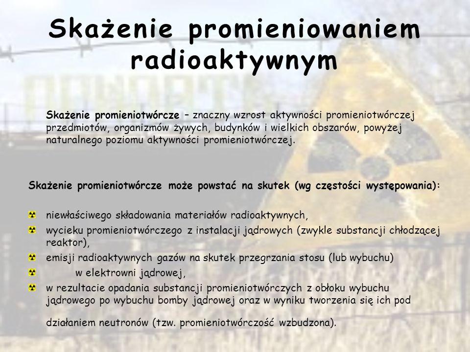 Radioaktywna chmura nad Polską