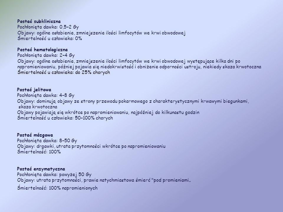 Choroba popromienna – ogólna nazwa chorobowych zmian ogólnoustrojowych powodowanych przez promieniowanie jonizujące oddziałujące na całe (lub prawie c