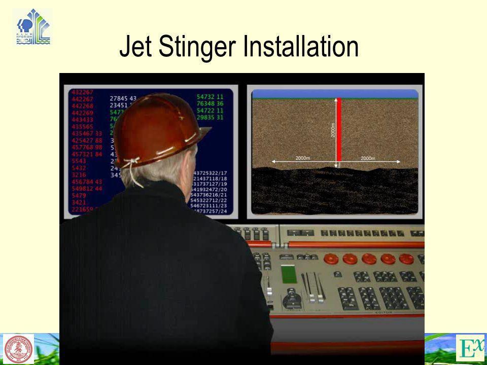 33 Jet Stinger Installation