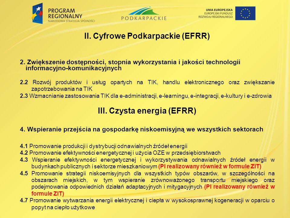 II.Cyfrowe Podkarpackie (EFRR) 2.