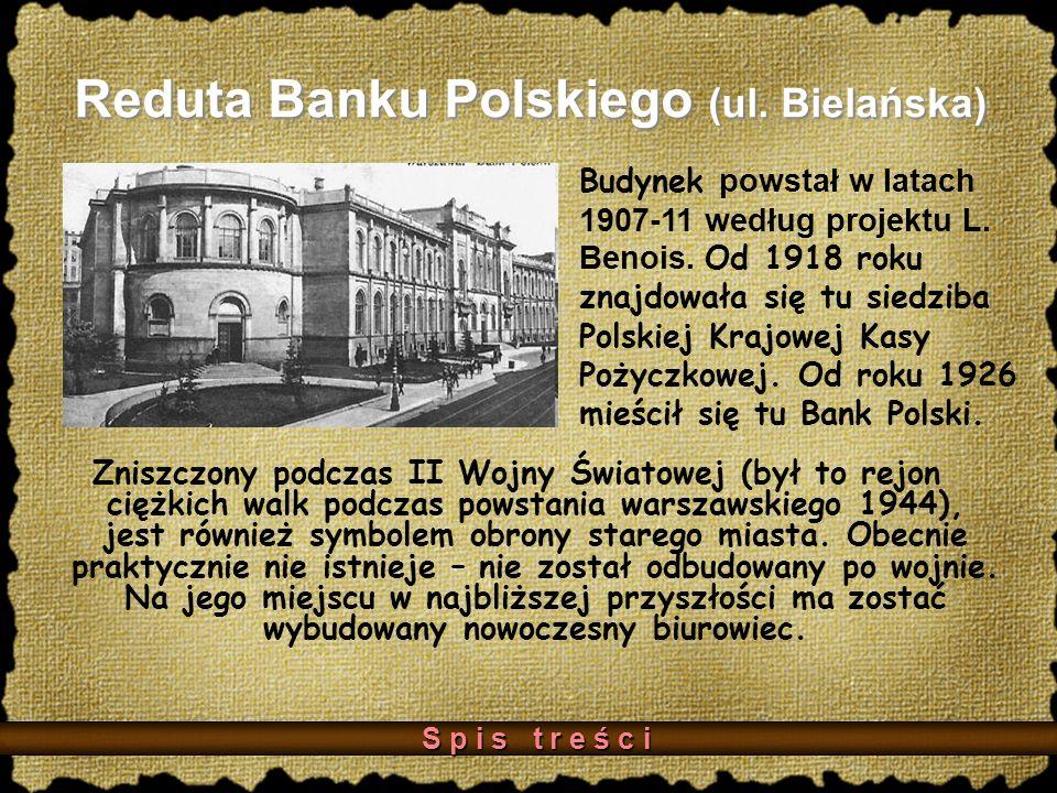 Reduta Banku Polskiego (ul.