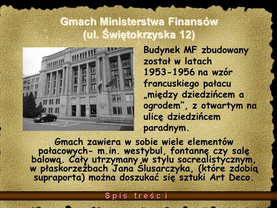 Gmach Ministerstwa Finansów (ul.