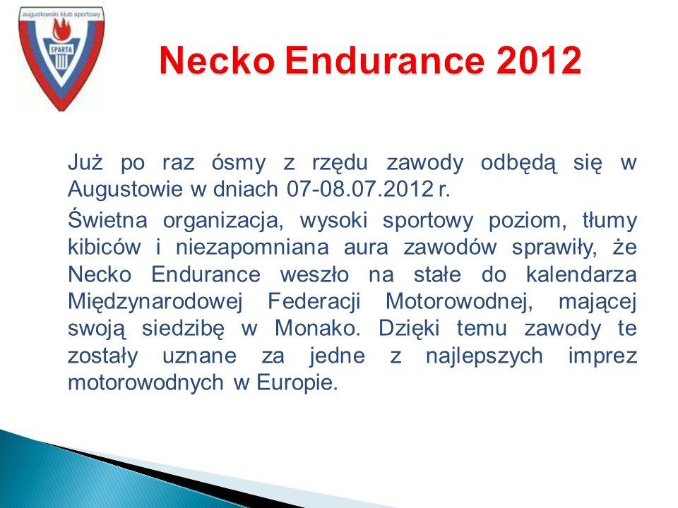 Już po raz ósmy z rzędu zawody odbędą się w Augustowie w dniach 07-08.07.2012 r.