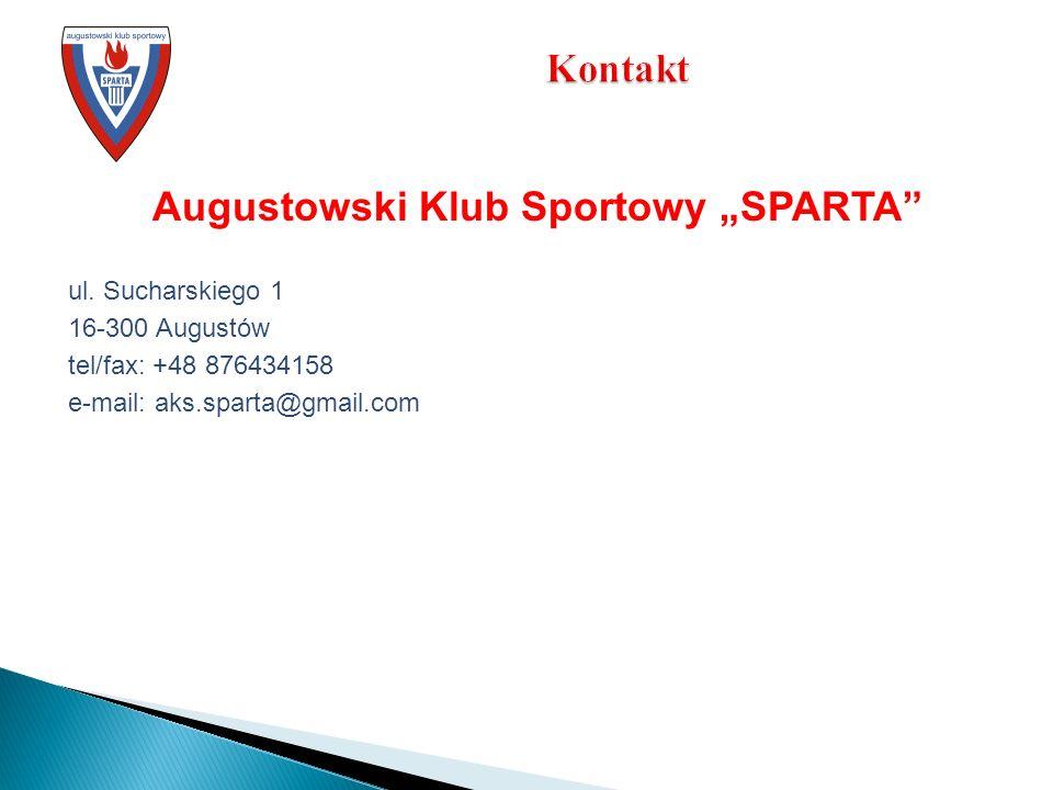 Augustowski Klub Sportowy SPARTA ul.