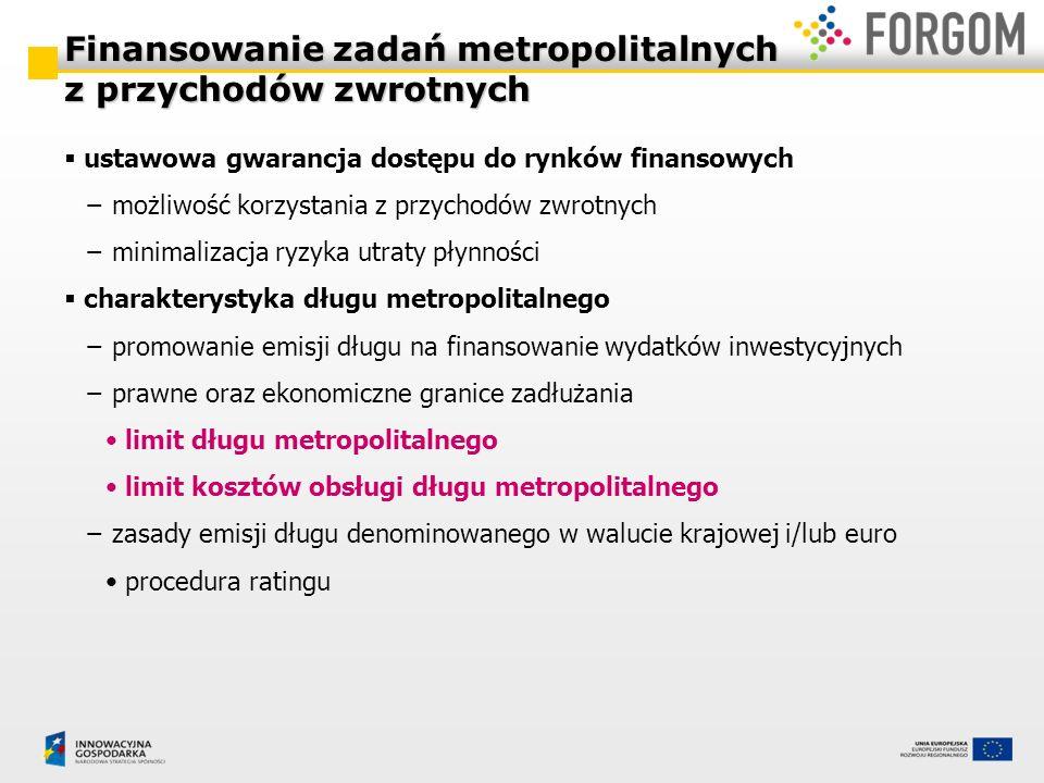 ustawowa gwarancja dostępu do rynków finansowych możliwość korzystania z przychodów zwrotnych minimalizacja ryzyka utraty płynności charakterystyka dł
