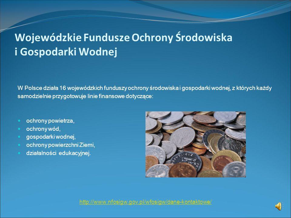 Narodowy Fundusz Ochrony Środowiska i Gospodarki Wodnej (4) Tryb dofinansowania kolektorów słonecznych: Dopłaty na częściowe spłaty kapitału kredytów
