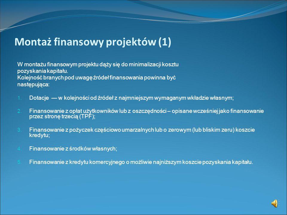Finansowanie przez stronę trzecią TPF - firmę typu ESCO. W ramach systemu ESCO (Energy Saving Company) inwestor spłaca koszt modernizacji z oszczędnoś