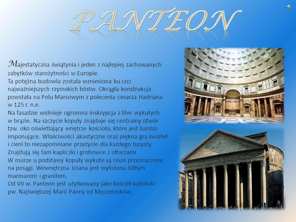 M ajestatyczna świątynia i jeden z najlepiej zachowanych zabytków starożytności w Europie. Ta potężna budowla została wzniesiona ku czci najważniejszy