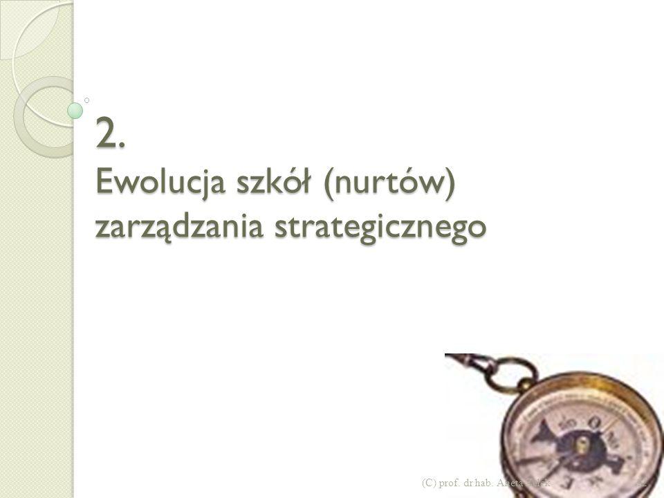Strategia a taktyka 11(C) prof. dr hab. Aneta Zelek