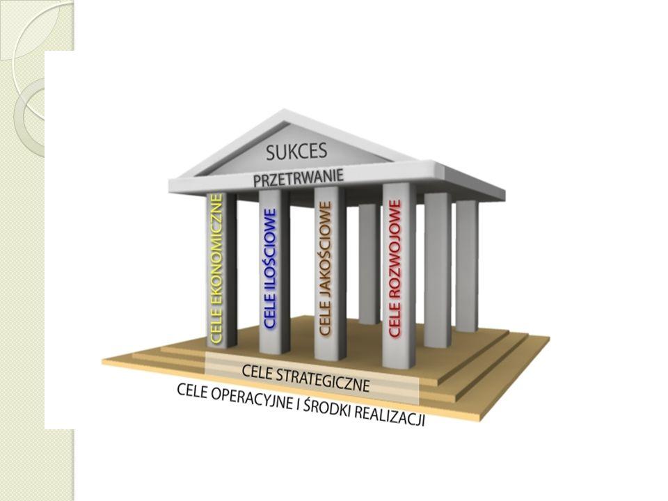 Kategorie celów strategicznych 48(C) prof. dr hab. Aneta Zelek Cele ekonomiczne ROI ROS Cele ilościowe Udział w rynku Rozmiary produkcji / sprzedaży C
