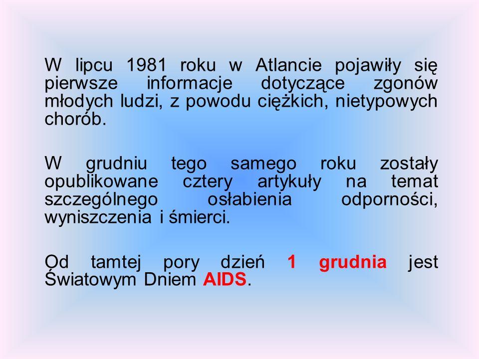 NIE DAJ SZANSY AIDS ADRIANNA WOJCIECHOWSKA GIMNAZJUM NR 4 IM. MARIANA KOSZEWSKIEGO W KOŚCIANIE