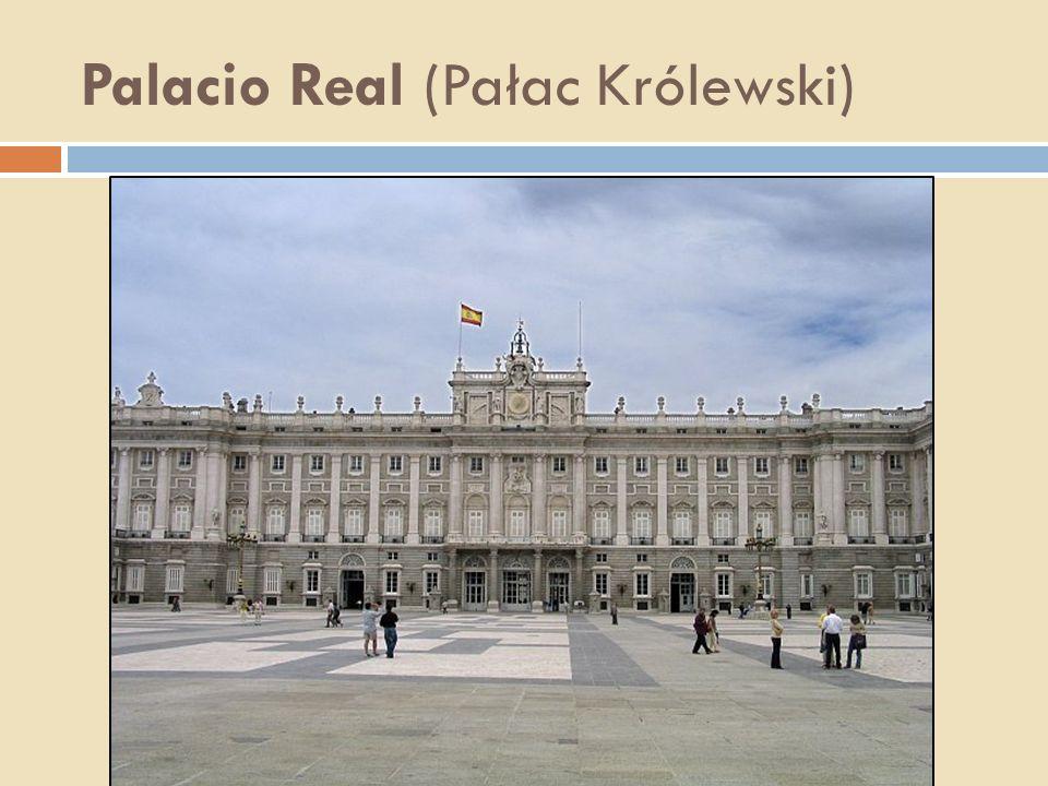 Palacio Real (Pałac Królewski)