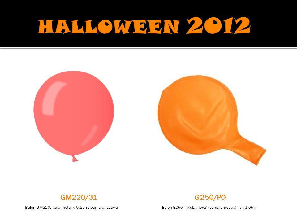 Balon G250 - Kula mega (pomarańczowy) - śr.