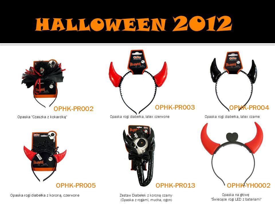 Cylinder Halloween , czarny, różowe rogiTorba Halloween Halloweenowe Paluszki Odcięte, krwawiące palce / 2 szt.