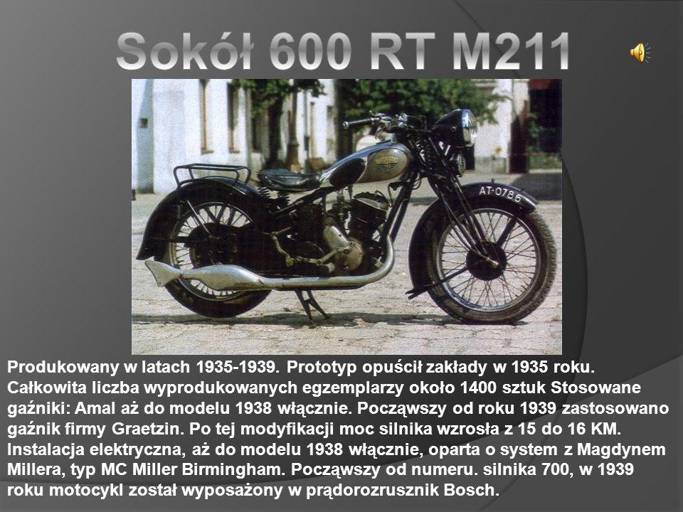 Produkowany w latach 1935-1939.Prototyp opuścił zakłady w 1935 roku.