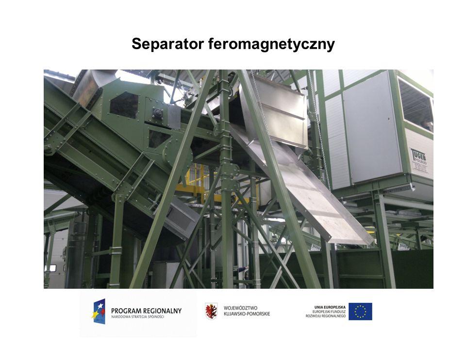 Separator feromagnetyczny