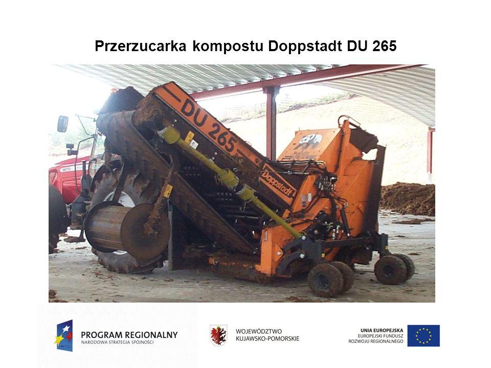 Przerzucarka kompostu Doppstadt DU 265