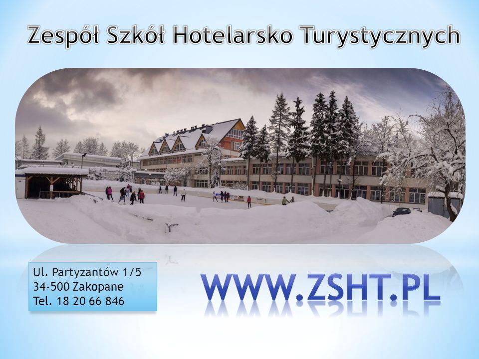 Ul. Partyzantów 1/5 34-500 Zakopane Tel. 18 20 66 846