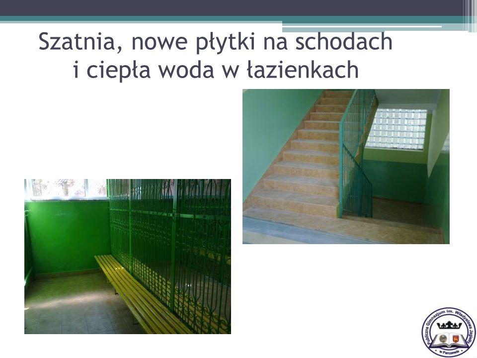 I miejsce w powiecie biegaczy z naszego gimnazjum.