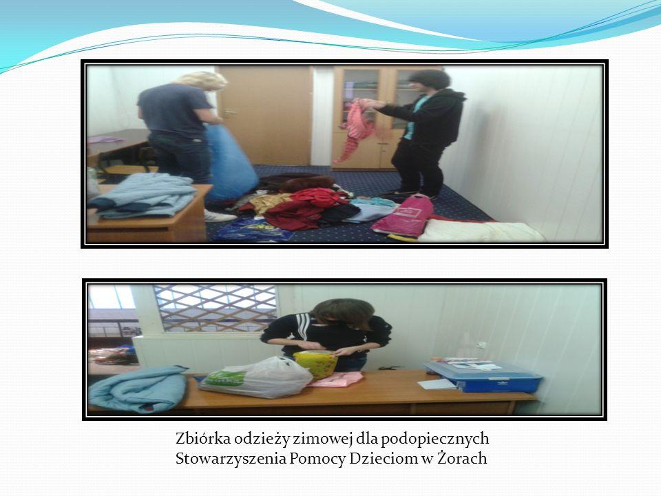 Zbiórka odzieży zimowej dla podopiecznych Stowarzyszenia Pomocy Dzieciom w Żorach