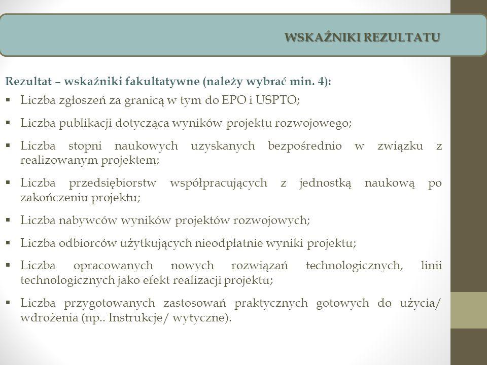 WSKAŹNIKI REZULTATU Dział Transfer Technologii Politechniki Łódzkiej ul.