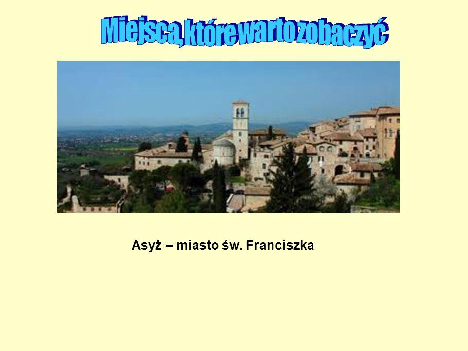 Asyż – miasto św. Franciszka