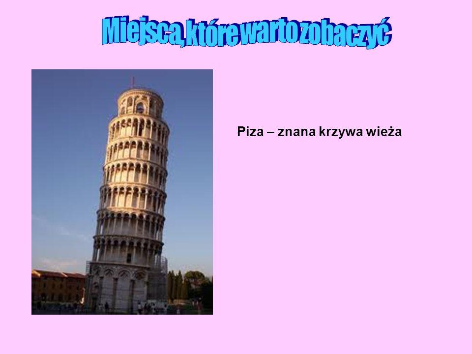 Piza – znana krzywa wieża