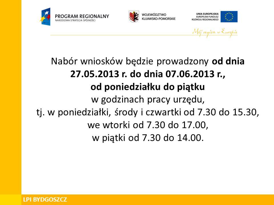 Departament Zarządzania Funduszami i Projektami Unijnymi Pomoc de minimis W przypadku projektów objętych pomocą de minimis złożonych w odpowiedzi na konkurs Nr RPOWKP 94/IV/4.3/2013 kwalifikowalność wydatków rozpoczyna się z dniem 1 stycznia 2007 roku.