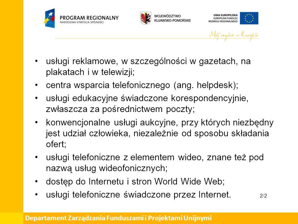 art.7 Rozporządzenia Wykonawczego RADY (UE) Nr 282/2011 z dnia 15 marca 2011 r.