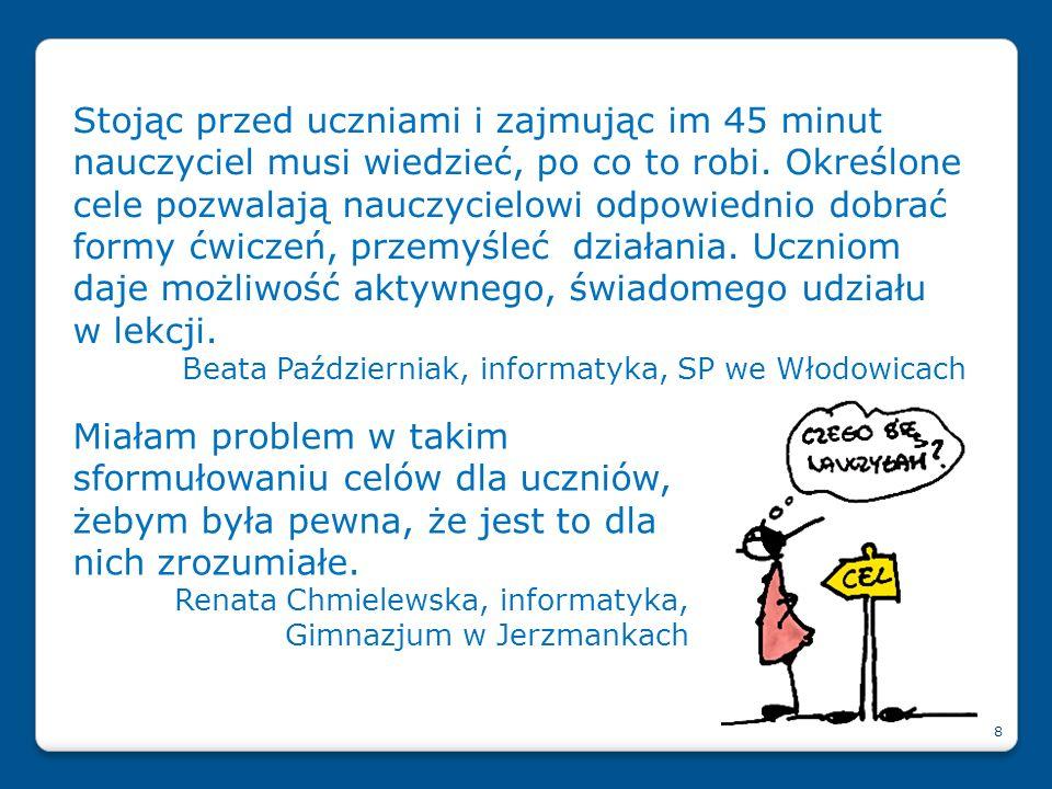 Na stronie www.ceo.org.pl/ok polecamy artykuły, skarbiec OK, Zapytaj Eksperta Publikacje OK: Więcej o ocenianiu kształtującym: 29 Jak oceniać, aby uczyć P.