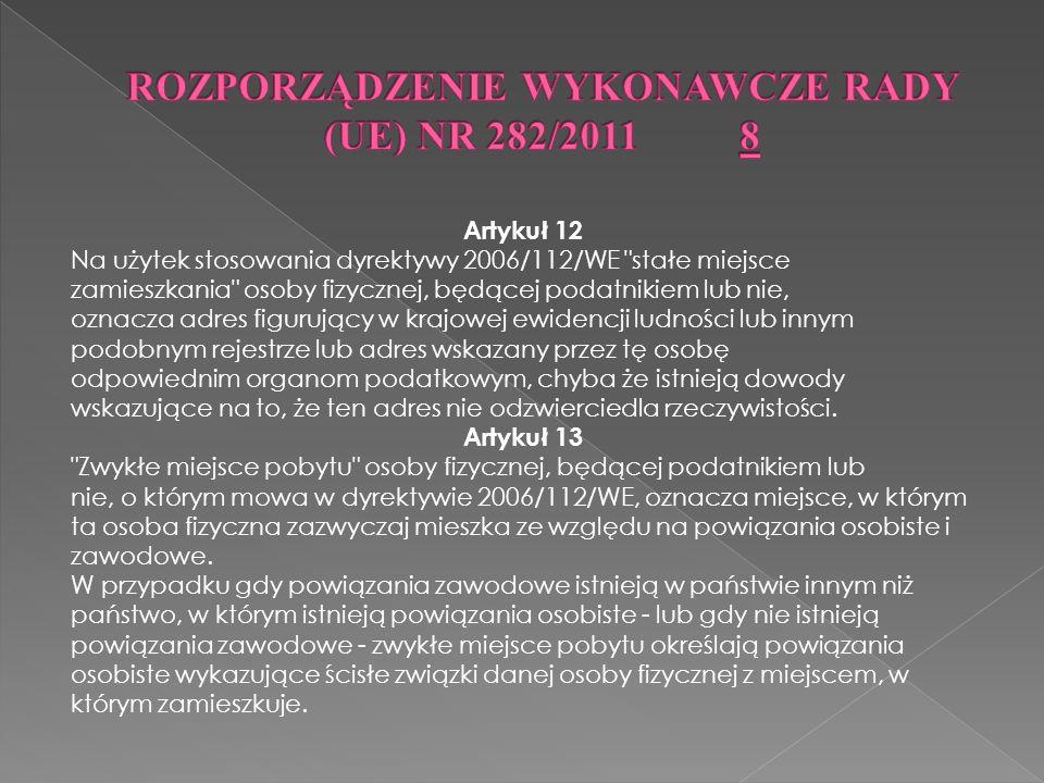 Pierwsza z nich dotyczy sytuacji kiedy nabywcą usług transportowych jest polski podatnik (tzn.