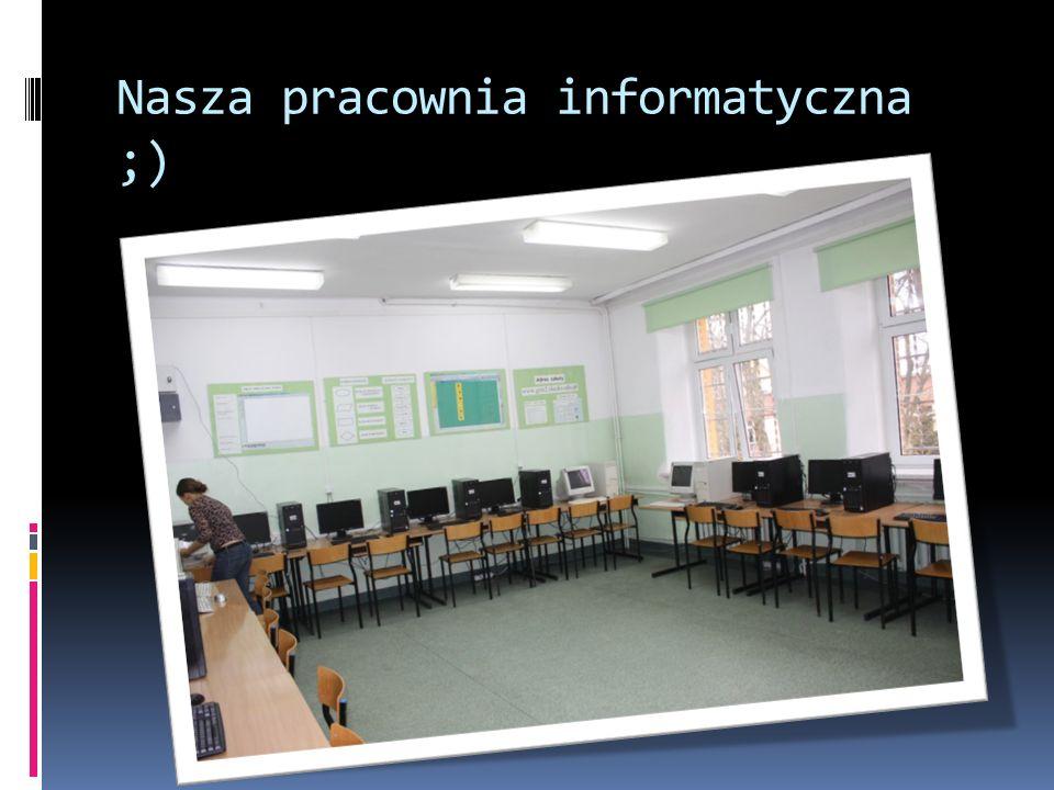 Nasza pracownia informatyczna ;)