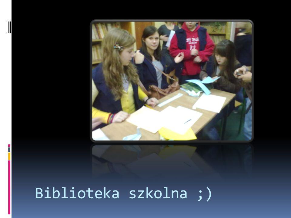 Biblioteka szkolna ;)