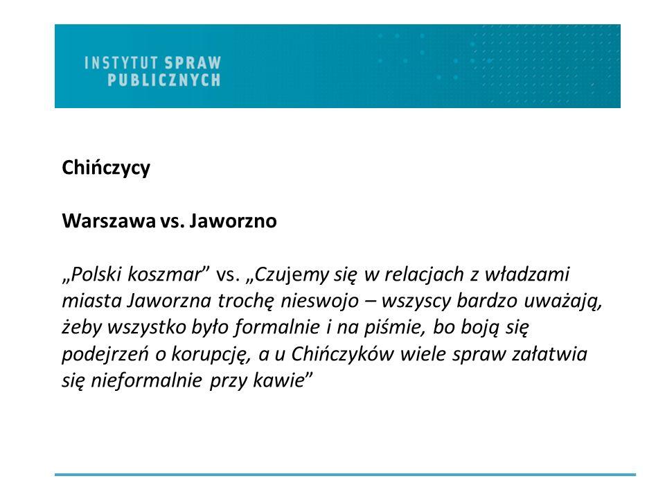 Chińczycy Warszawa vs. Jaworzno Polski koszmar vs.