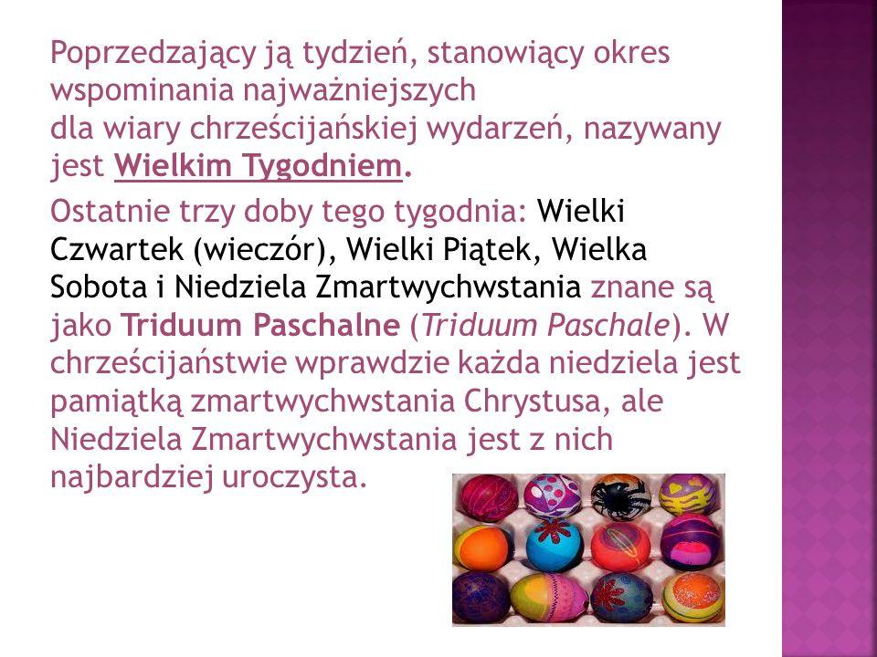 Pokarmy Pokarmy wchodzące w skład święconki zawierają jaja (symbol nowego życia) w postaci kolorowych pisanek, kraszanek; baranka (dawniej formowanego z masła lub ciasta) w specjalnych formach, później cukrowego i z chorągiewką z napisem Alleluja lub z czekolady, a symbolizującego zmartwychwstanie Jezusa Chrystusa; sól kuchenną (która miała chronić przed zepsuciem); chleb, wędlinę, chrzan, pieprz, ciasta świąteczne (pascha, lub paska, niem.