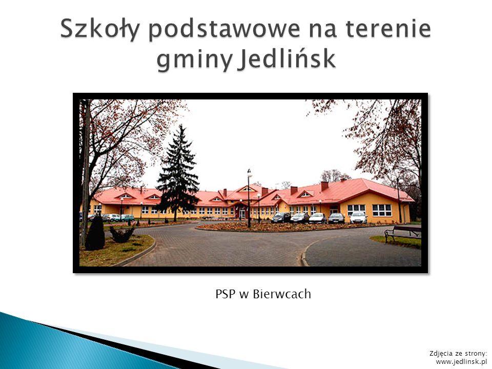 PSP w Bierwcach Zdjęcia ze strony: www.jedlinsk.pl