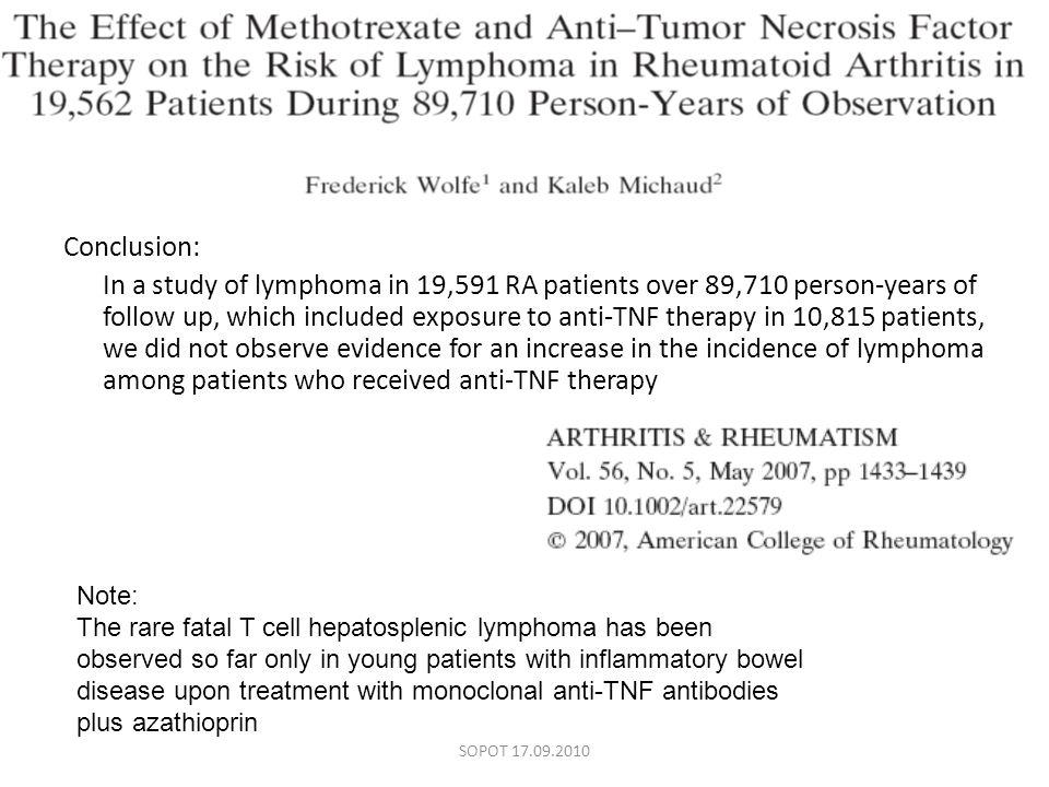 Ocena skuteczności terapii wg lekarza (>6-10) SOPOT 17.09.2010