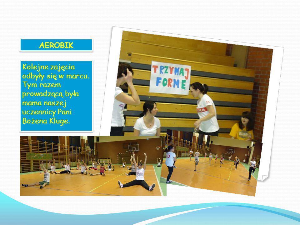FITNESS W lutym zorganizowaliśmy zajęcia fitness dla mam naszych uczniów, które cieszyły się dużym zainteresowaniem. Zajęcia prowadziła instruktorka m