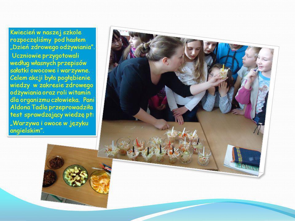 W marcu odbyła się w klasach pogadanka przeprowadzona przez p. Joannę Stułę na temat szkodliwości palenia papierosów oraz innych nałogów. W marcu odby