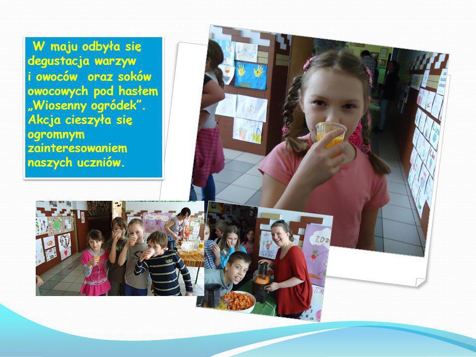Z okazji Szkolnego Dnia Teatru, uczestnicy projektu Trzymaj formę przygotowali oraz przedstawili scenkę pt: Łakomy Maciek na temat zdrowego odżywiania