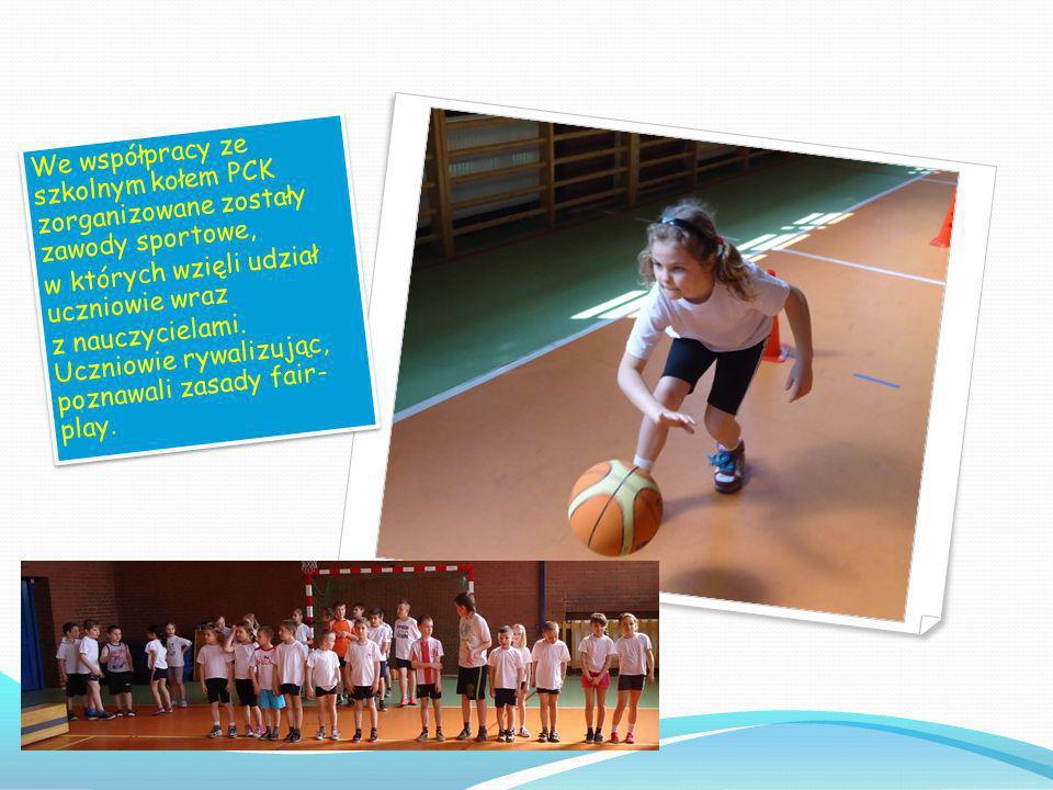 JESTEM AKTYWNY, ŻYJĘ ZDROWO Organizacja turnieju piłki nożnej dla uczniów klas V i VI.