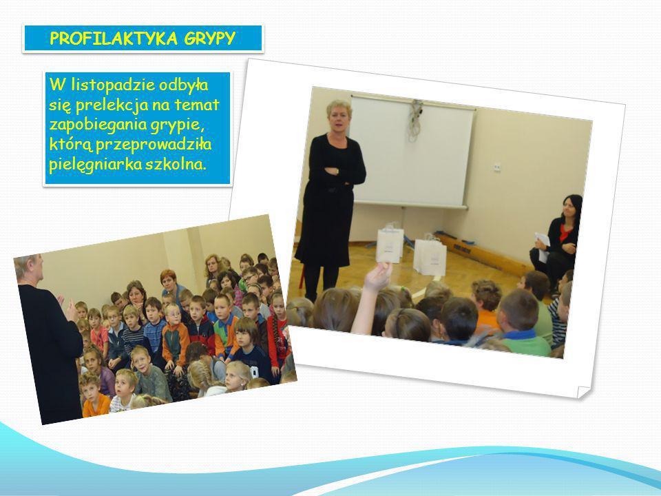 REALIZACJA PROGRAMU Realizację programu edukacyjnego Trzymaj formę w naszej szkole rozpoczęliśmy od przeprowadzenia apelu dla klas IV-VI, który odbył
