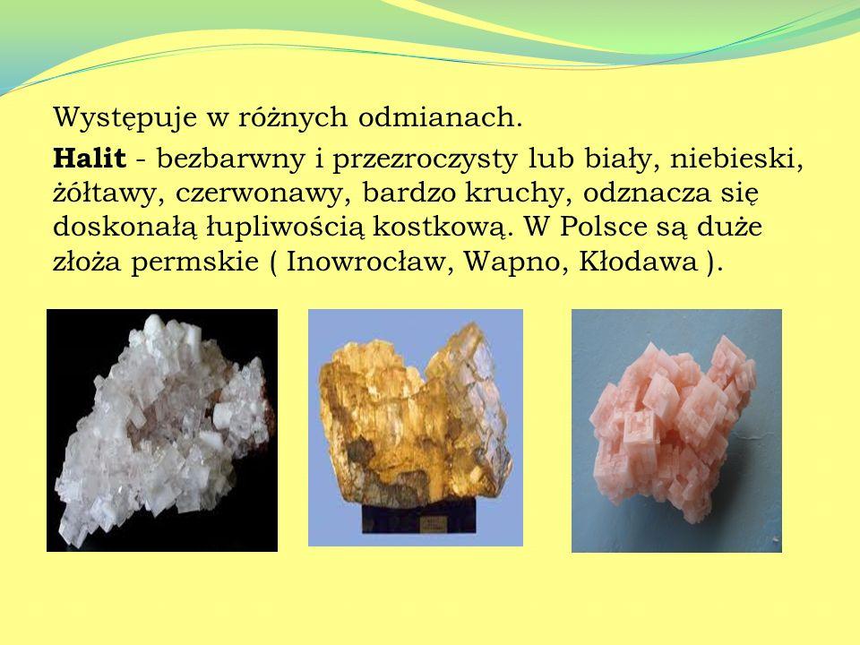 Chlorek sodu: NaCl Jest najbardziej znana solą. Potocznie nazywany jest solą kuchenną. Jest substancją bezbarwną, stałą, o słonym smaku, dobrze rozpus