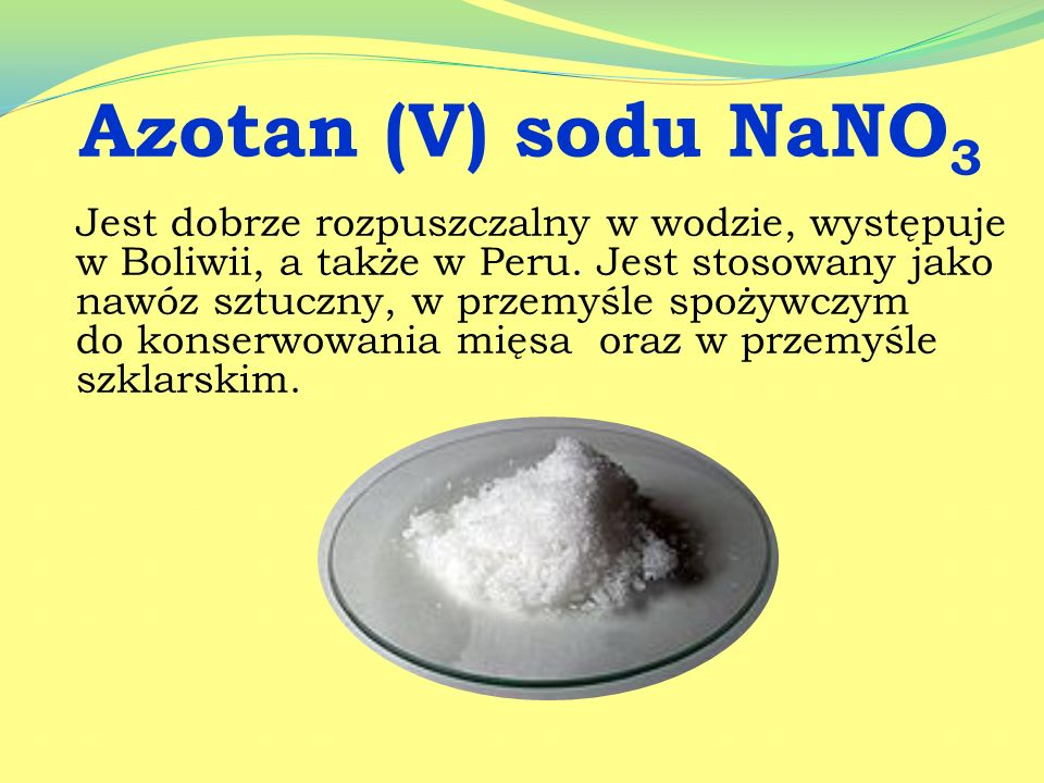 Siarczan (VI) magnezu Mg(SO 4 ) Powszechnie stosowany w laboratoriach oraz w przemyśle jako środek suszący.