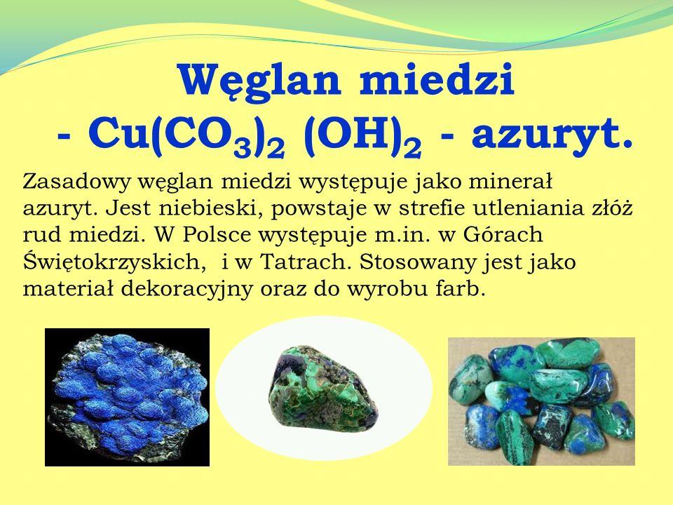 Węglan wapnia i magnezu CaMg[CO 3 ] 2 -Dolomit Dolomit może występować w formie zbitej, ziarnistej lub porowatej. W Polsce występuje na Górnym i Dolny
